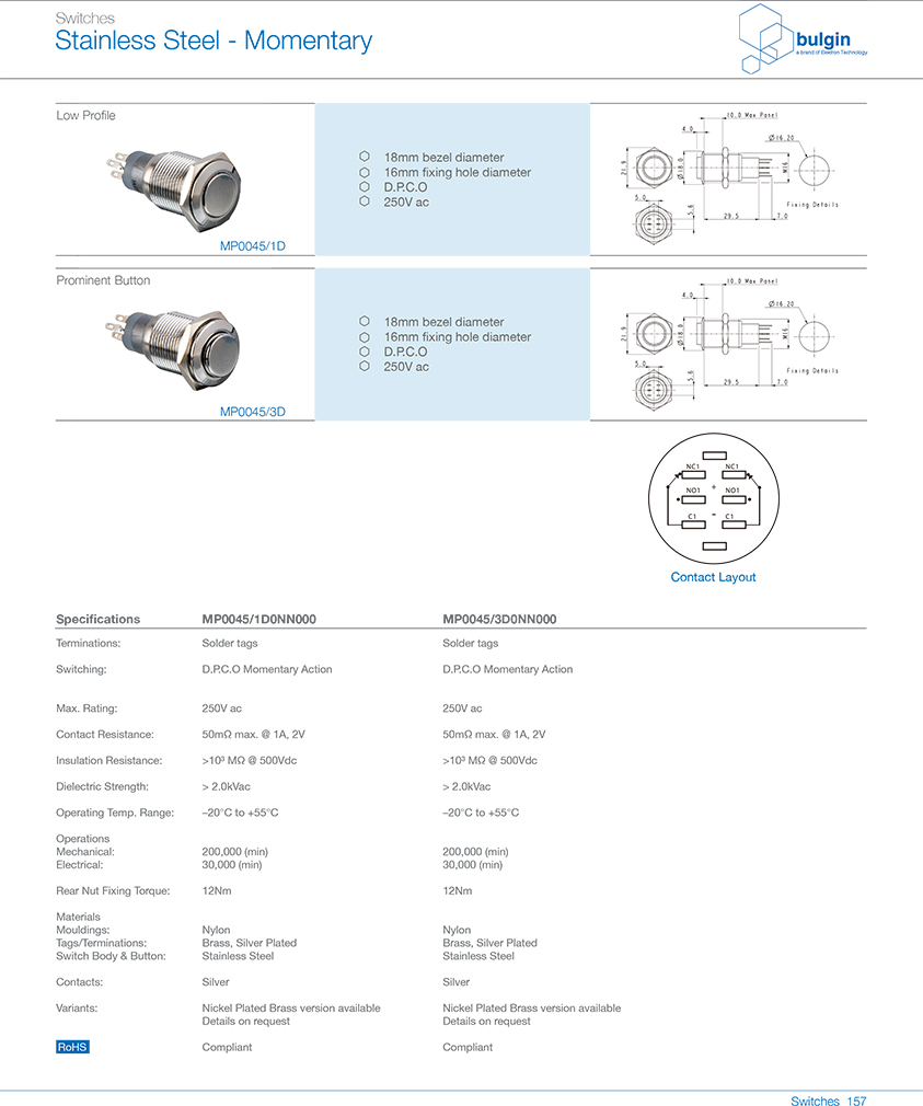 MP0045-1D防破坏开关型号