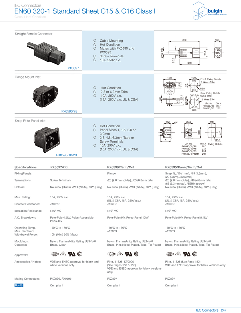 PX0590系列法兰安装 选型